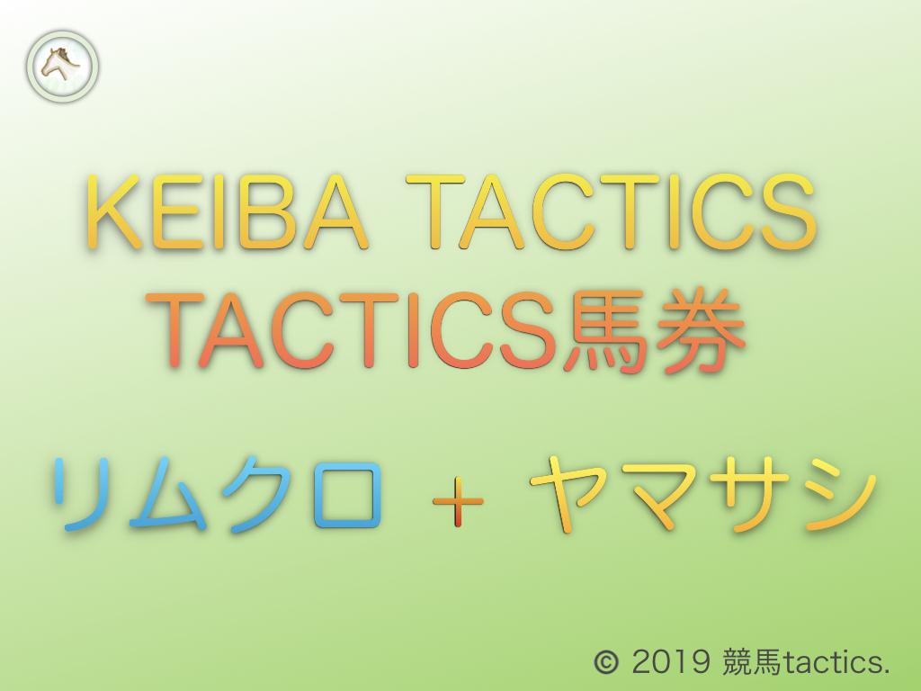 2020.9.27(日)第4回tactics馬券【複勝5回転がし】