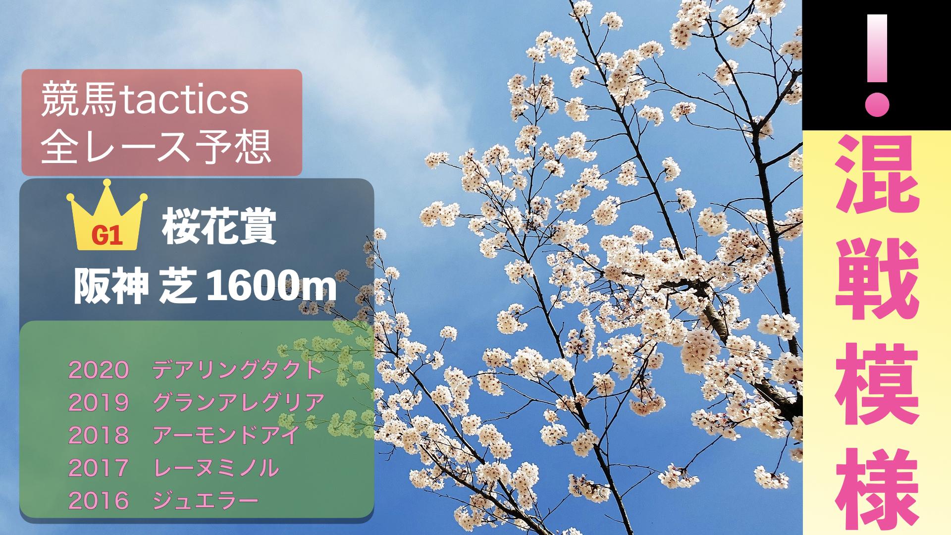 2021.4.11(日)第81回桜花賞(G1)阪神競馬場 芝1600m 右回り