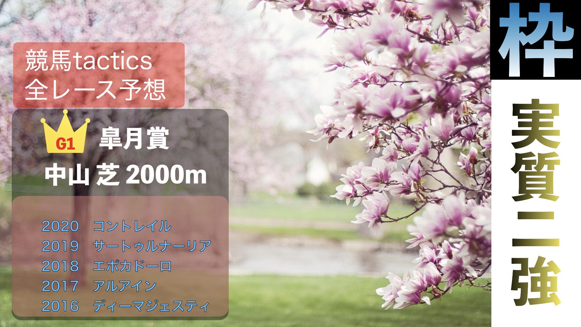 2021.4.18(日)第81回皐月賞(G1)中山競馬場 芝2000m 右回り