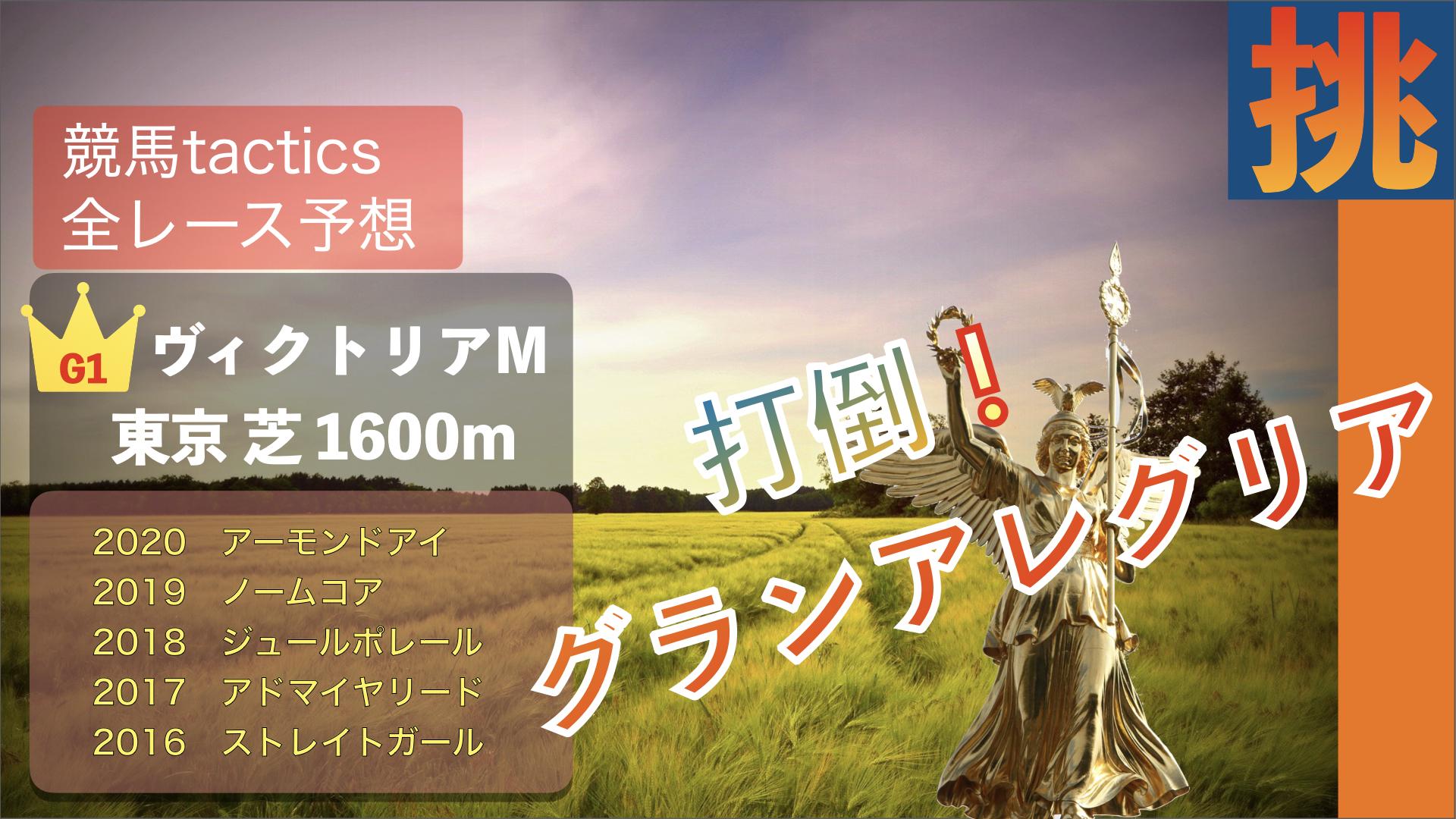 2021.5.16(日)第16回ヴィクトリアマイル(G1)東京競馬場 芝1600m 左回り